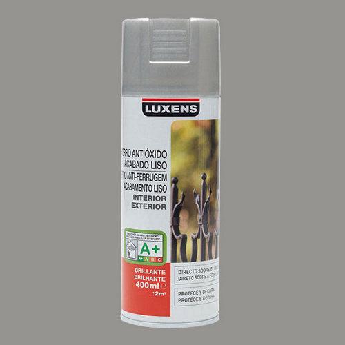 Spray antioxidante gris piedra brillo luxens de 0,4l