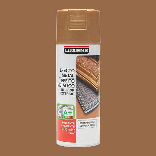 Spray pintura luxens efecto metal oro antiguo brillo 0,4l