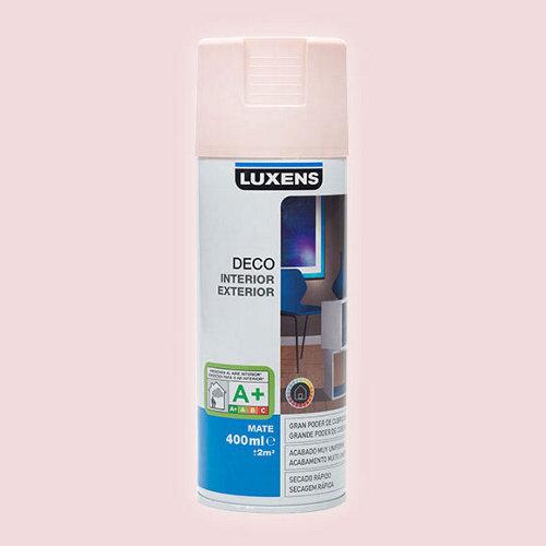 Spray pintura luxens rosa blush mate 0,4l