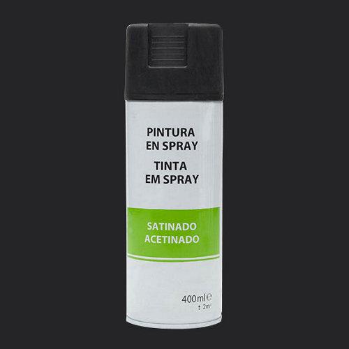 Spray satinado 400 ml negro