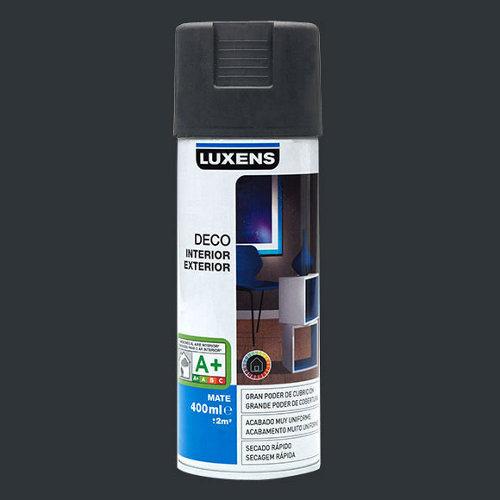 Spray pintura luxens gris zinc mate 0,4l