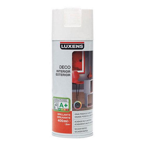 Spray pintura luxens blanco brillo 0,4l