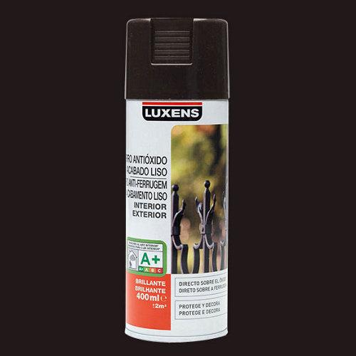 Spray antioxidante marrón chocolate brillo luxens de 0,4l