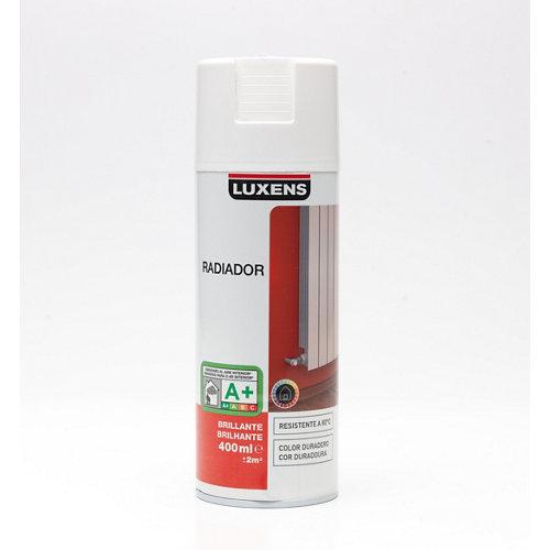 Spray para radiadores blanco brillo luxens de 0,4l