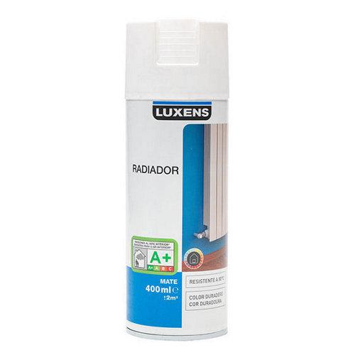 Spray para radiadores blanco mate luxens de 0,4l