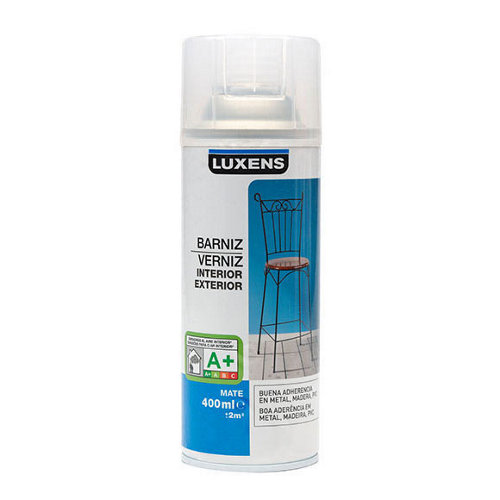 Spray barniz mate luxens 400ml incoloro