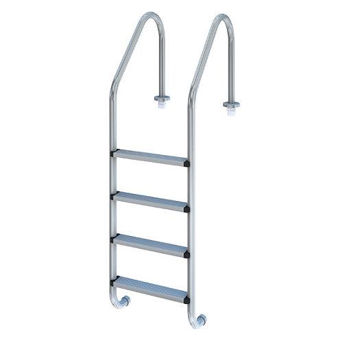 Escalera para piscina 4 peldaños qp standard plus