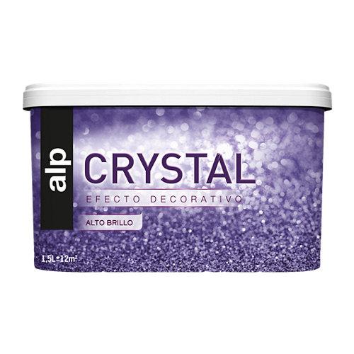 Pintura decorativa alp efecto crystal púrpura 1,5l