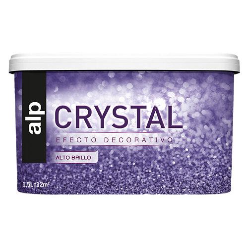 Pintura decorativa alp efecto crystal blanco 1,5l