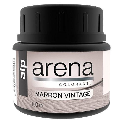 Colorante alp efecto arena marrón vintage 100ml