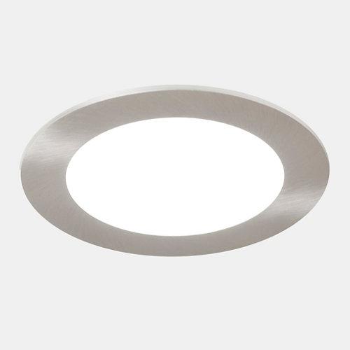 Foco led gris / plata de 6w
