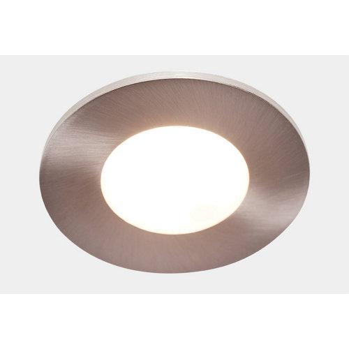 Foco orientable led gris / plata de 7.5w