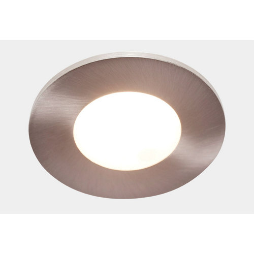 Foco orientable led gris / plata de 22w