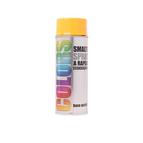 Spray pintura colors amarillo brillo 0,4l