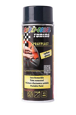 Spray Plastico Pelable Duplicolor 400 Ml Carbon Leroy Merlin