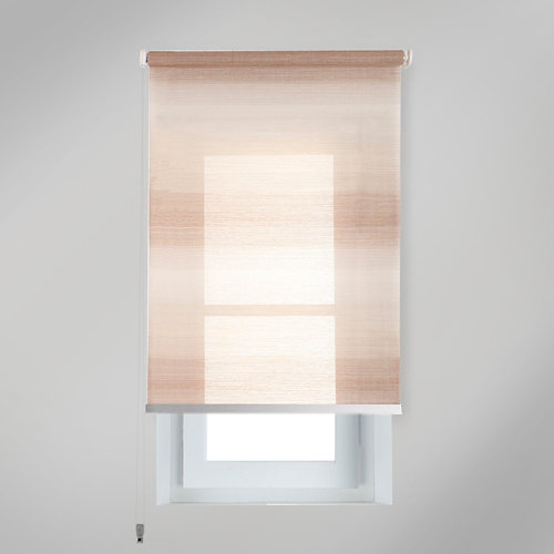 Estor enrollable translúcido tokyo beige de 94x230cm