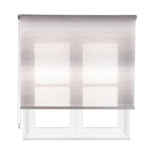 Estor enrollable translúcido tokyo gris de 154x230cm