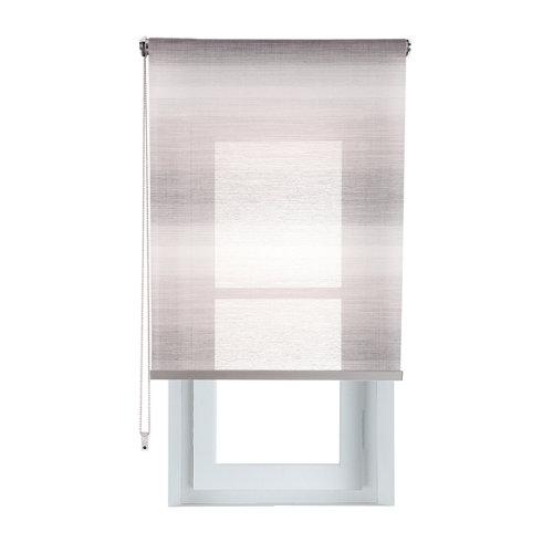 Estor enrollable translúcido tokyo gris de 94x230cm