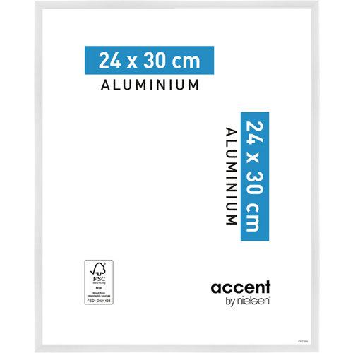 Marco blanco 30 cm x 24 cm