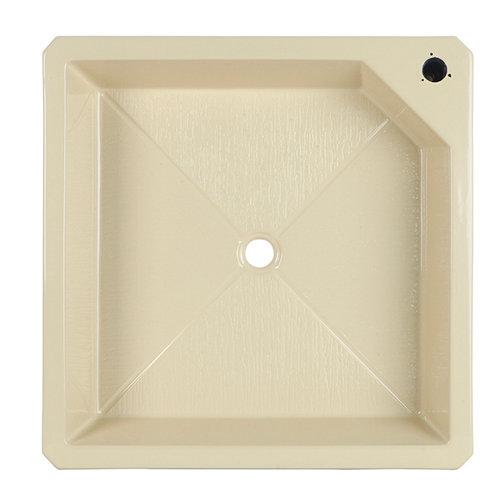 Plato de ducha piscina fibra de vidrio 90x10 cm