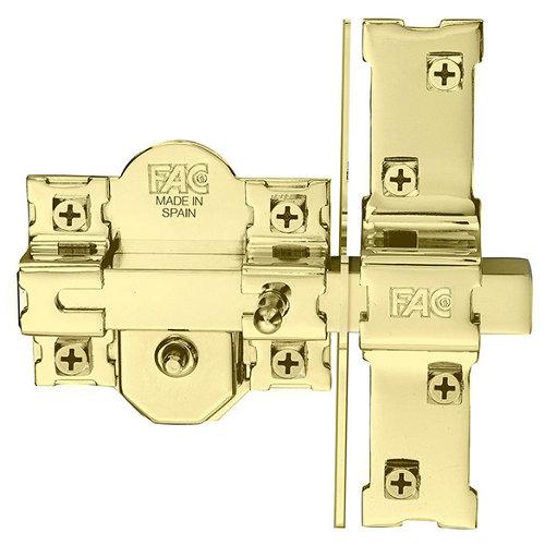 Cerrojo de seguridad cilindro 50mm 946lp/80 dorado