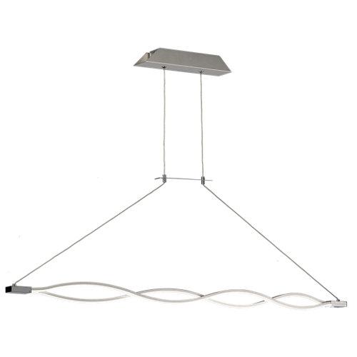 Lámpara de techo led sahara gris 1 luz