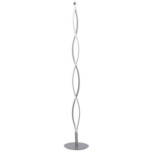 Lámpara de pie mantra sahara plata