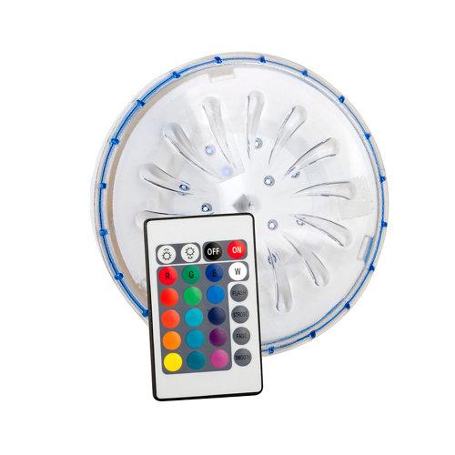 Foco imantado led 15 colores 1.8 w y 15 cm de ø