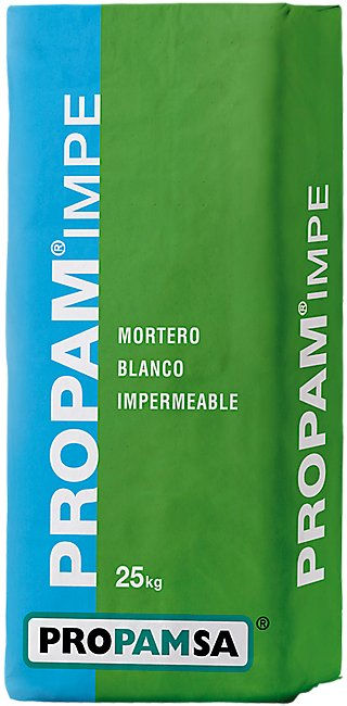 Mortero impermeabilizante PROPAMSA Propam Impe blanco 25 kg · LEROY MERLIN