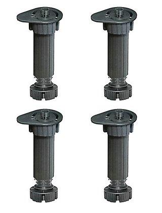 4 pata regulable de plástico para mueble hasta 20 cm · LEROY ...