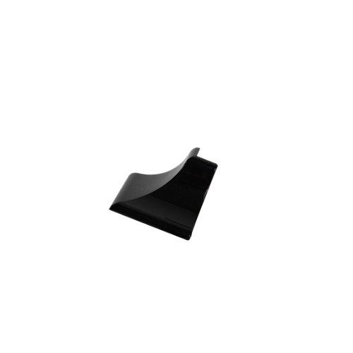 Esquinera de copete cóncavo delinia para cocina color negro