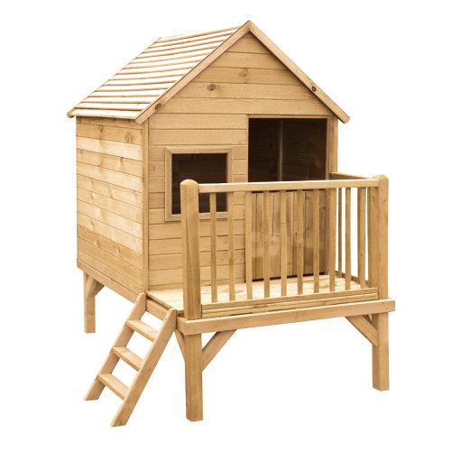 Caseta infantil de madera winnie 175,6x151,1x210 cm