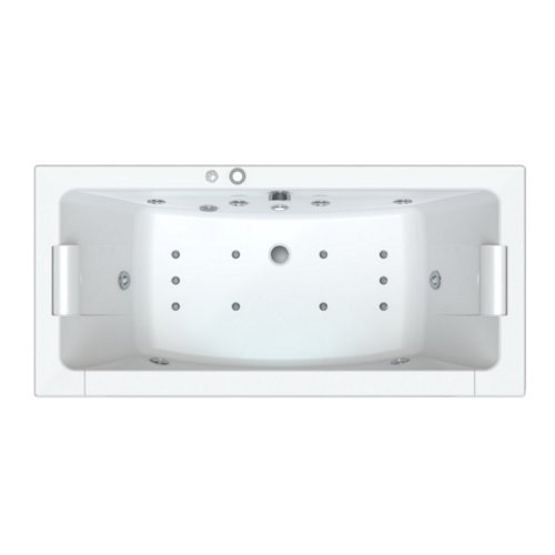 Bañera rectangular sfa optima 180x85x62.5 cm
