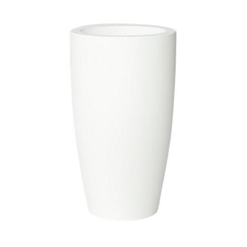 Maceta de polietileno newgarden blanco 40x70 cm