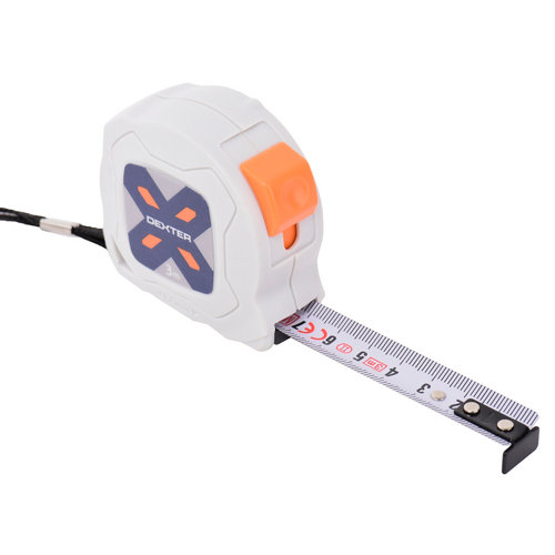 Flexómetro enrollable dexter de 16mm 3 m