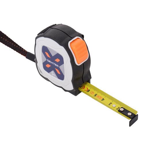 Flexómetro dexter de 5mx 19 mm