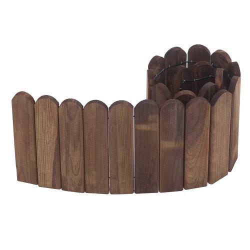 Bordura para plantar de madera 20x120 cm