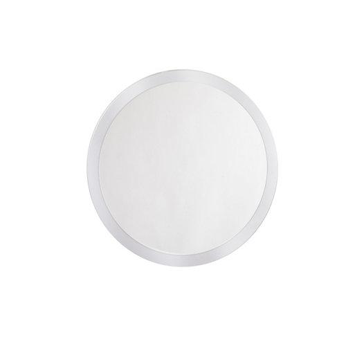 Espejo de baño sphere gris / plata 70 x 70 cm