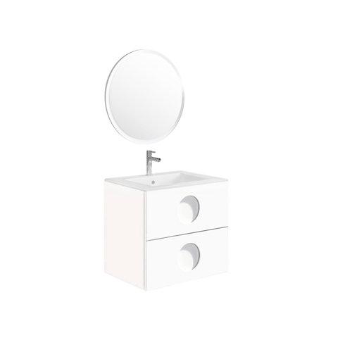Mueble de baño sphere blanco 60 x 45 cm