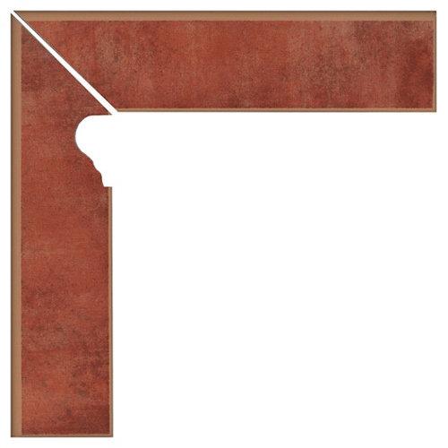 Zanquín izquierdo serie colonial 8x33,15 cm caldera