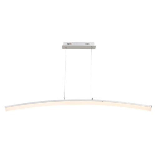 Lámpara de techo led colmar blanca 1 luz