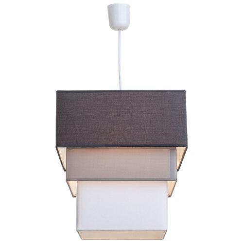 Lámpara de techo castel plateada 1 luz