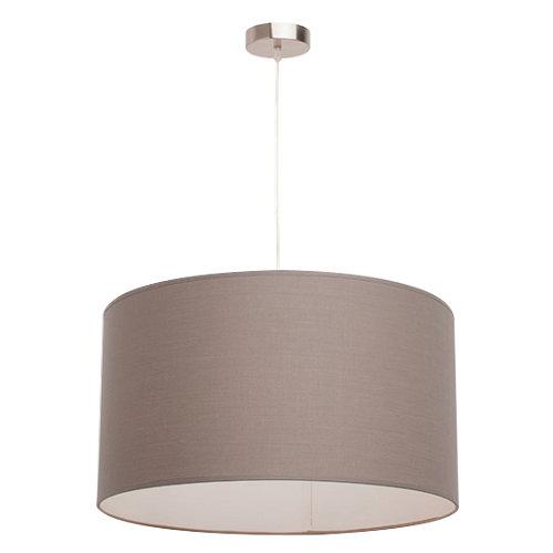 Lámpara inspire nicole 1 luz e27 d40 plateada