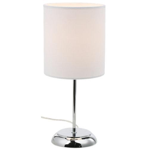 Lámpara de mesa inspire nicole 1 luz e27 d16 blanca
