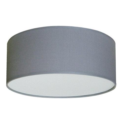 Plafón inspire nicole 2 luces d30 gris