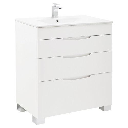 asimétrico blanco roto 80 x 45 cm