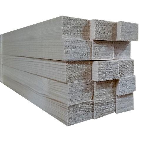 Listón de abeto cepillado 18x27mm x 2.4m (ancho x espesor x largo)