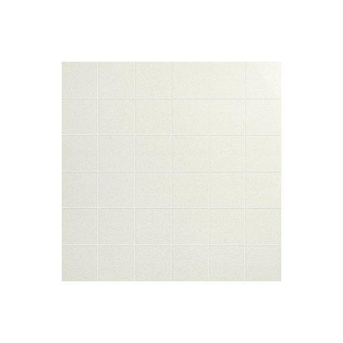 Mosaico smart blanco para suelo y pared de 30x30cm