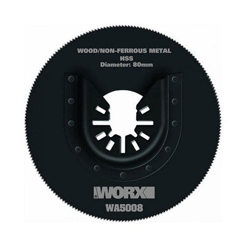 Hoja de sierra worx para cortar wa5008 con fijación universal
