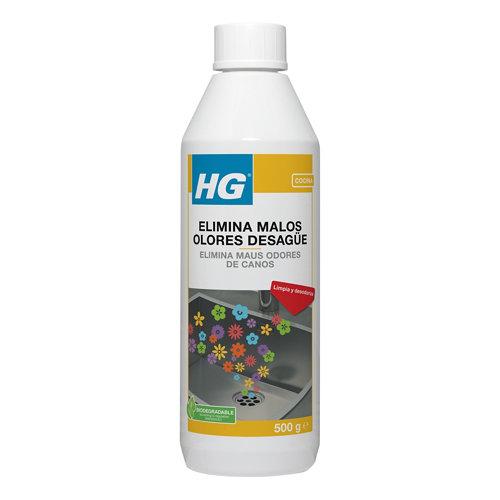 Eliminador malos olores desagüe hg 500ml